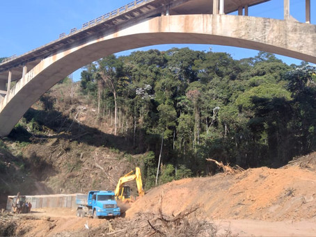 DNIT lembra que acesso às obras na Ponte do Ribeirão Prainha é proibido para pessoas não autorizadas