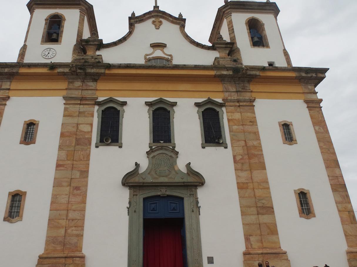 Fachada da Igreja Matriz Nossa Senhora do Bom Sucesso