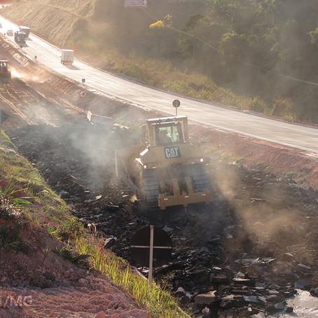 DNIT realiza reciclagem do antigo asfalto da BR-381/MG