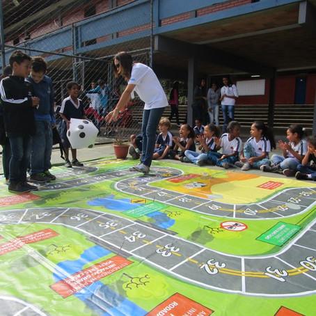 800 crianças participam de atividades de educação no trânsito de Belo Horizonte