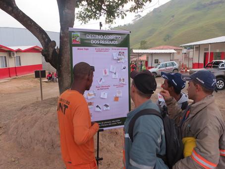 DNIT comemora Semana do Meio Ambiente com ações educativas nas obras da BR-381