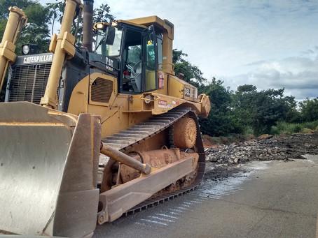 Reaproveitamento do asfalto antigo beneficia aplicação de novo pavimento na BR-381