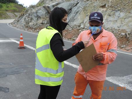 BR-381/MG: trabalhadores do lote 7 recebem oficina diferenciada de Educação Ambiental