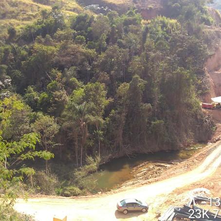 DNIT inicia bases para construção da ponte sobre o Ribeirão Prainha, na BR-381/MG