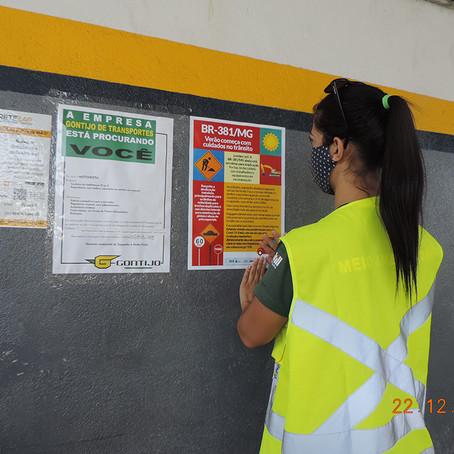 DNIT prepara campanha para segurança no trânsito para BR-381/MG durante temporada de verão