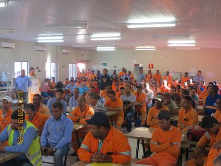SIPAT no Lote 3.1 tem participação da Gestão Ambiental da BR-381