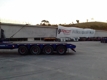 DNIT informa sobre movimentações de carga indivisível na BR-381