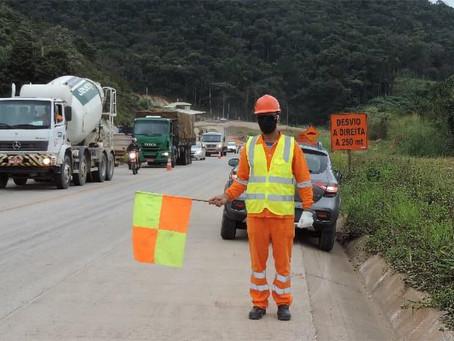 BR-381/MG: conheça do Subprograma de Segurança nas Obras