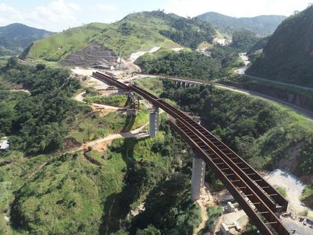 Duplicação da BR-381/MG: ponte Severo está com 85% da estrutura concluída