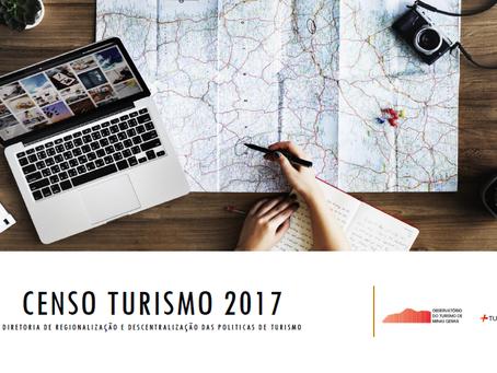 Setur-MG divulga resultado do Censo Turismo 2017