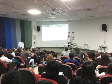 DNIT realiza palestra com alunos de faculdade em Itabira