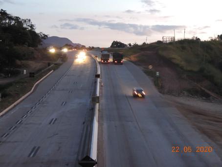Atenção motorista: conheça os limites de velocidade para a BR-381/MG durante obras de duplicação