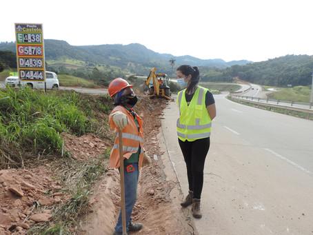 DNIT e Gestora Ambiental conversam com trabalhadores da BR-381/MG sobre meio ambiente