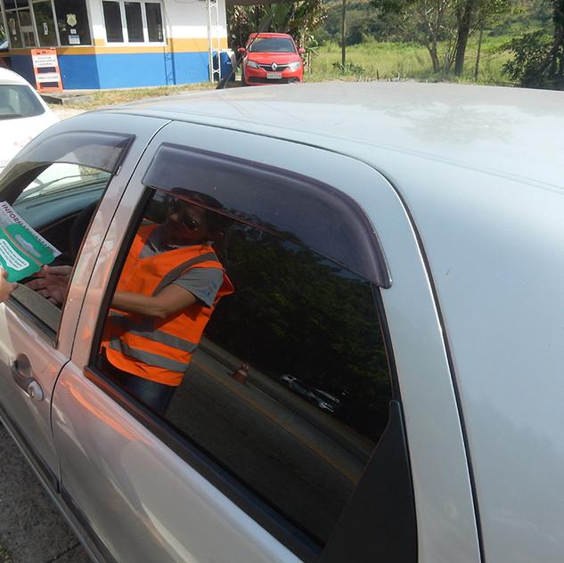 Atividade com motoristas