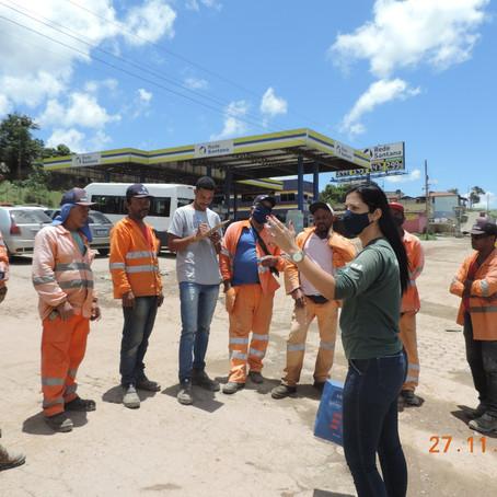 DNIT fecha Novembro Azul com ações para trabalhadores na BR-381/MG