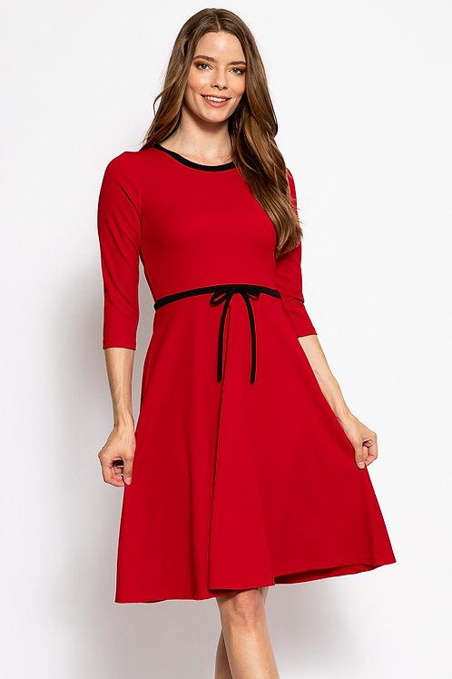 Ariana Red Dress