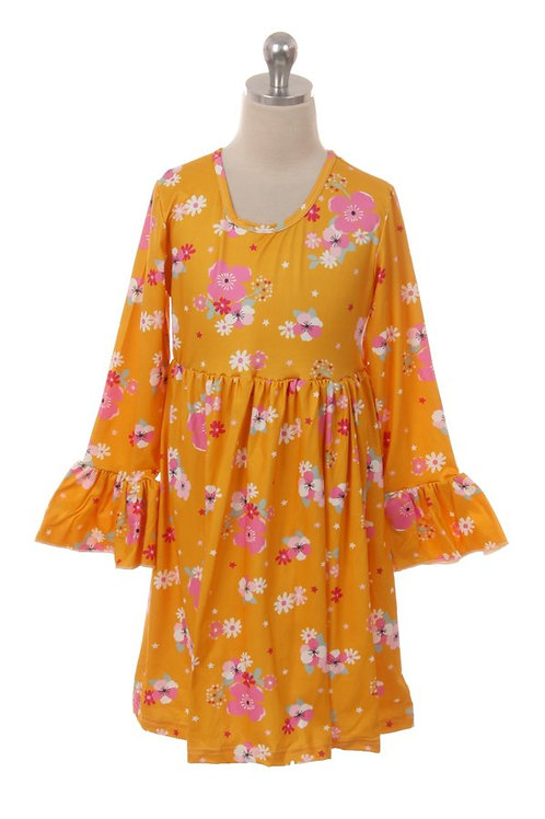 Amy Floral Girls Dress