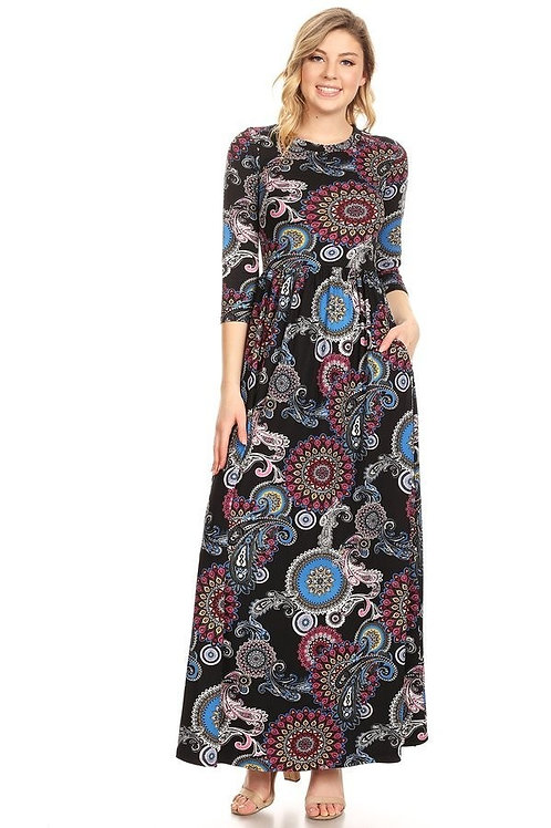 Suzie Paisley Dress