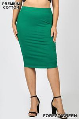 Olivia Knee-Length Skirt