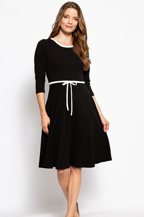 Camila Black Dress