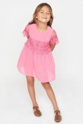 Allison Lace Girls Dress