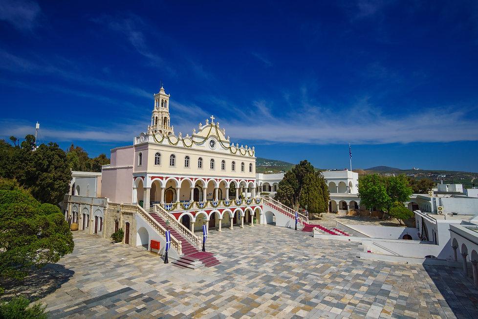 The famous Church of Panagia Megalochari