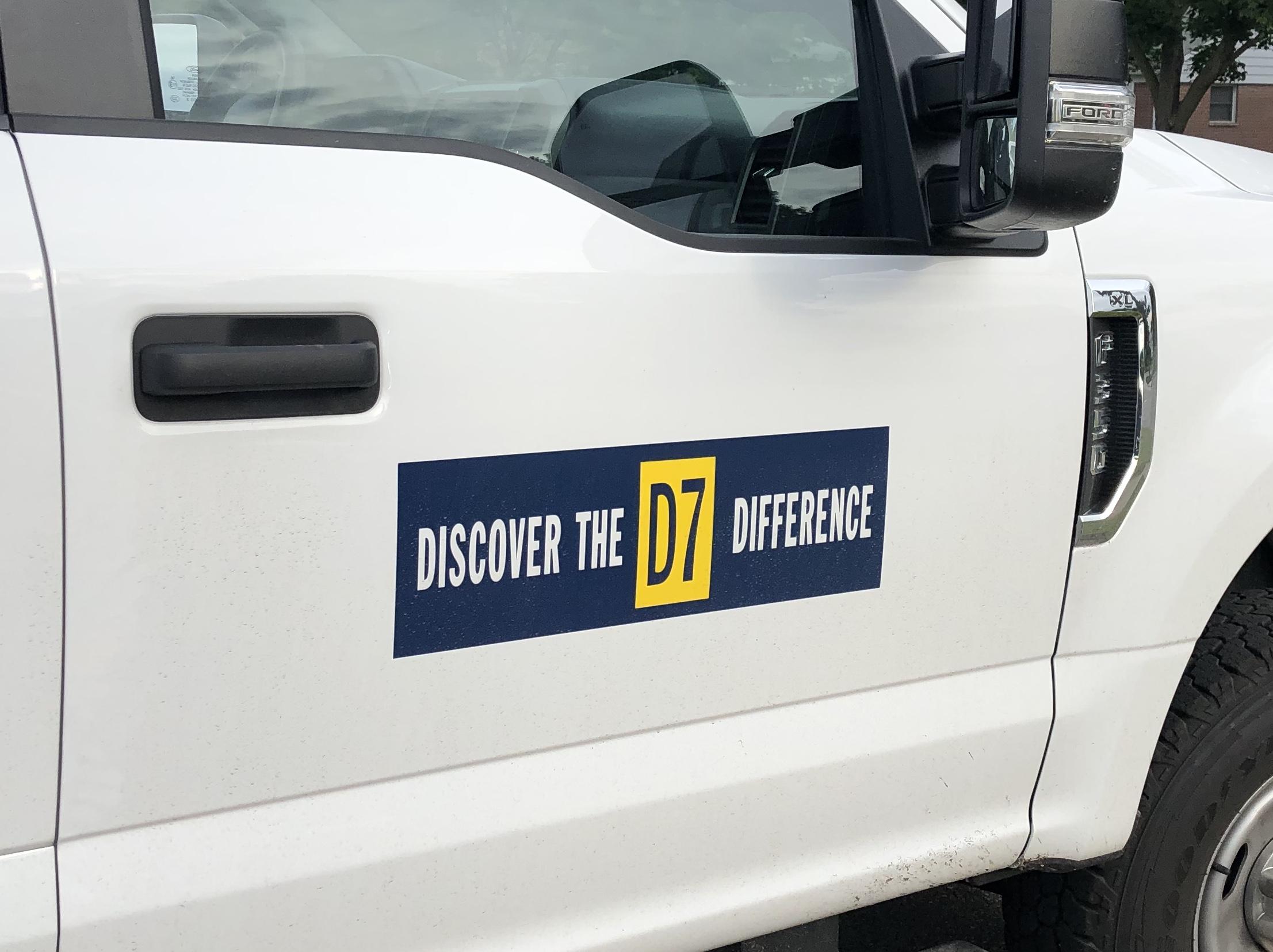 d7 brand truck
