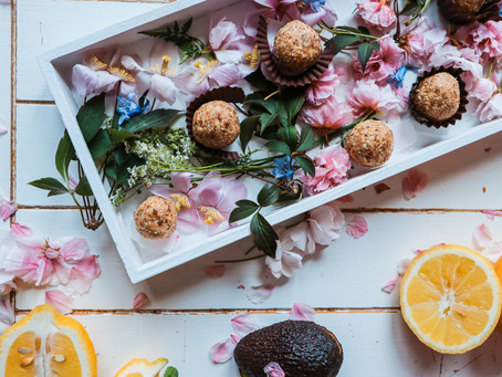 Date & Mulberry Energy Balls