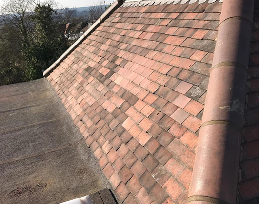 Roofing Tiling before Domestic Roofing