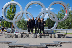 VSOIW Clarinets at the Olympic Plaza