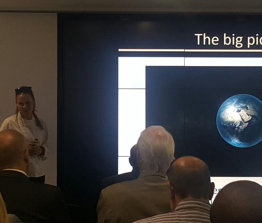 Adriana Marais at SAP Launch
