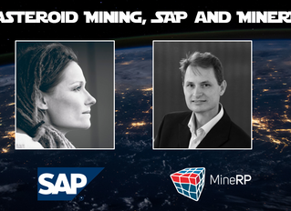 What does Space Mining have to do with SAP and MineRP?