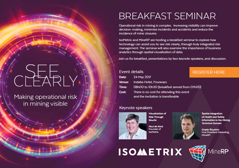 ISOMETRIX and MineRP breakfast seminar