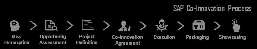 Figure 1 The SAP Co-Innovation Laboratory (COIL) process