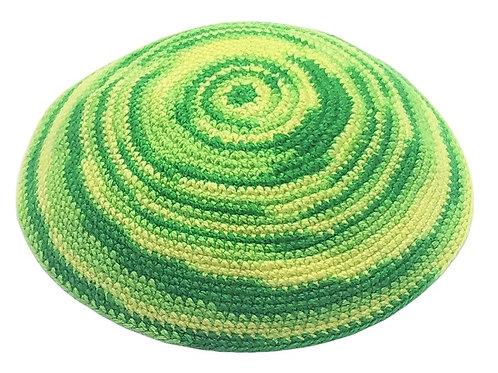 Green & Yellow Swirl