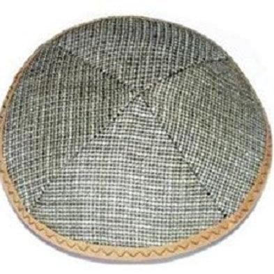 Olive Tweed Kippah