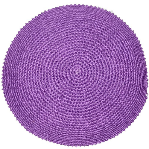 Purple with White Rim