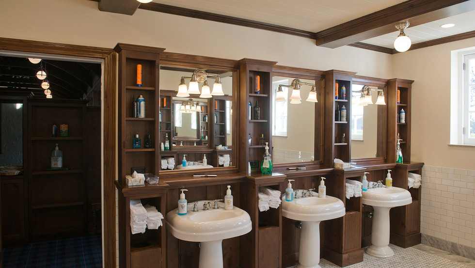 Men's Locker Room Sink Area