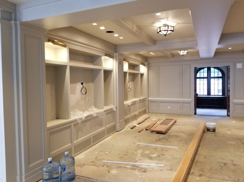 Interior Room with Millwork
