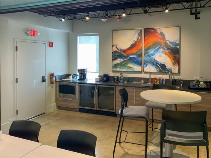 Renovated Employee Lounge