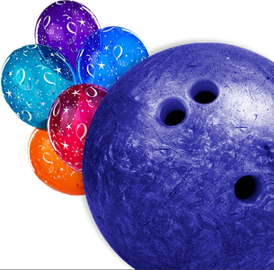 Bowling balls for everyone party