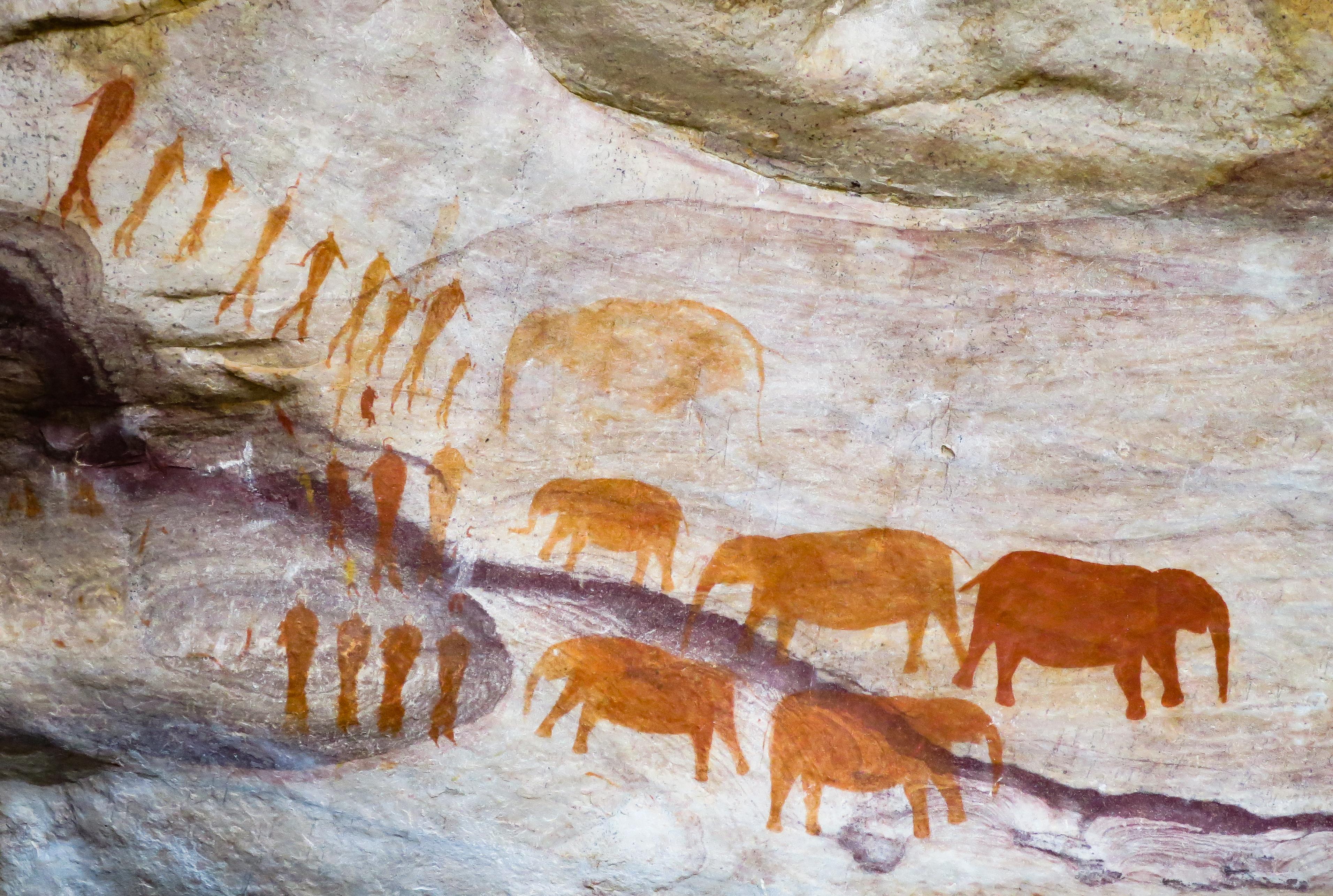 Khoisan Cave Paintings, Cederberg