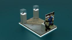 GS-MOE-Generic-2 x 3 Mtr Podium Unit_3D_