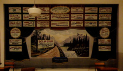 1940s, 29 businesses 18'x20' banner