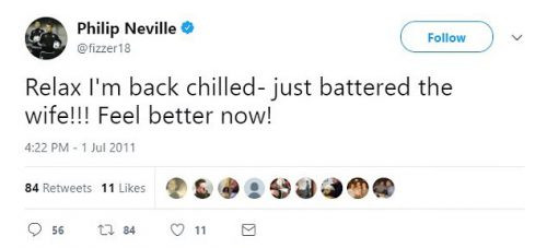Philip Neville's Tweets