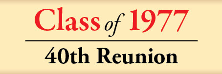 W.B. Saul High School Class of 1977 40th Class Reunion