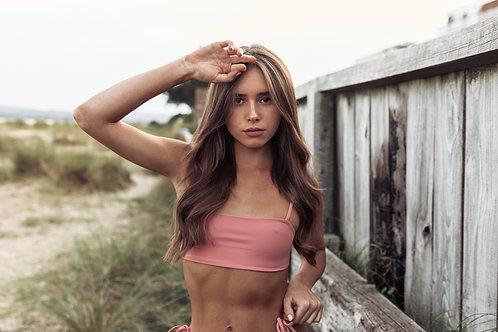 Ocean Bikini Top - Dusty Rose