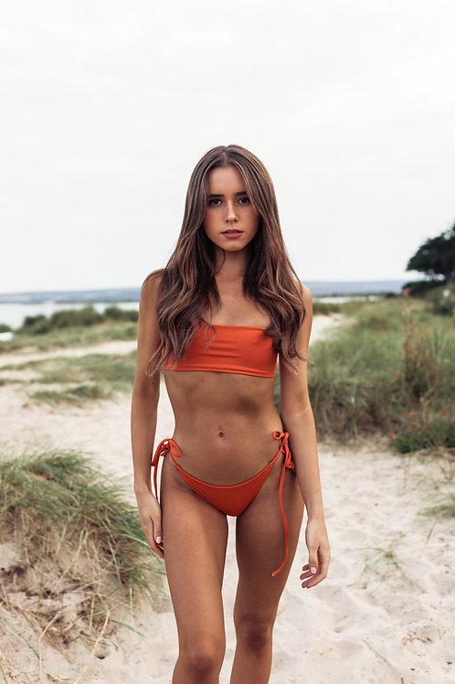Ocean Bikini Top - Rust