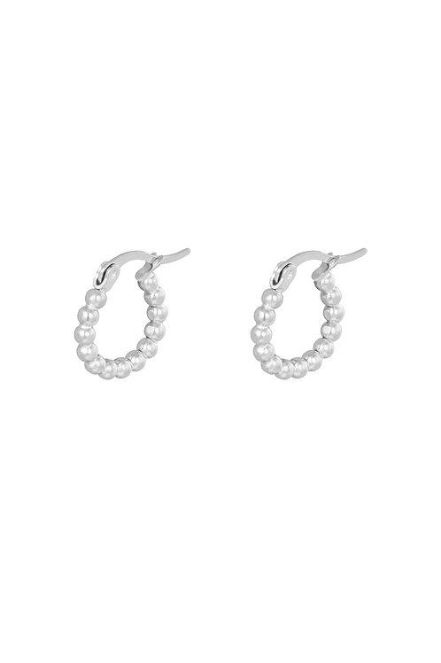 Earrings Little Dots Silver