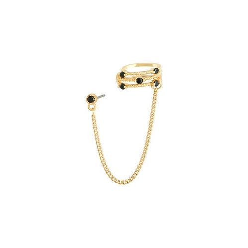 Earcuff chain gold